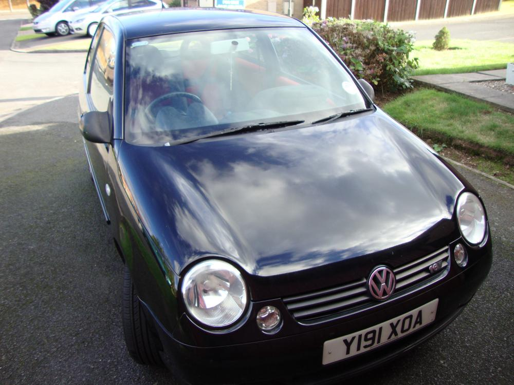vw lupo 1 4 16v sport black central exhaust cars for sale club lupo. Black Bedroom Furniture Sets. Home Design Ideas